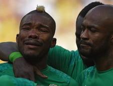 Moment dramatic la CM 2014: Un fotbalist a izbucnit in plans dupa ce a aflat ca i-a murit tatal