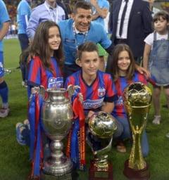 Moment emotionant pe National Arena: Galca a spus adio Stelei