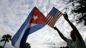 Moment istoric: SUA si Cuba reiau relatiile diplomatice
