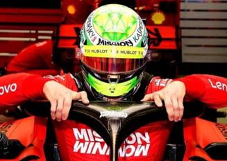 Moment special in Formula 1: Fiul lui Michael Schumacher, in monopostul Ferrari