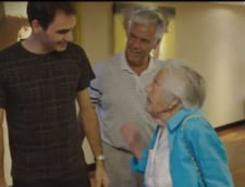 Moment special pentru Roger Federer: S-a intalnit cu o fana in varsta de 107 ani (Video)