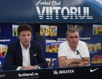 """Moment tensionant intre Gica Hagi si Gica Popescu: """"Mai lipsea un pic sa ne luam la bataie"""""""