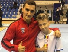 Moment unic in gimnastica romaneasca. Marian Dragulescu, in acelasi concurs cu fiul sau de 14 ani