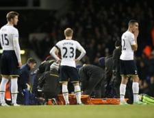 Momente de groaza in Premier League: Un jucator de top a cazut din senin pe gazon. Vezi cum se simte