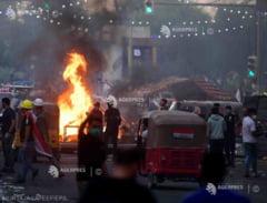 Momente de groaza in centrul capitalei. Imagini care au cutremurat lumea