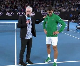 Momente emotionante la Australian Open: Cu lacrimi in ochi, Djokovic l-a omagiat pe Kobe Bryant