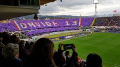 Momente emotionante pe stadionul Fiorentinei. Fanii si-au luat ramas bun de la Davide Astori intr-o atmosfera tulburatoare (Video)
