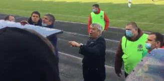 Momente incredibile in Ucraina. Mircea Lucescu, scandal mostru cu suporterii lui Dinamo Kiev chiar in timpul meciului din Cupa. Ce le-a strigat antrenorul roman VIDEO
