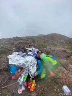 Momente socante in China. 21 de oameni au murit inghetati in timp ce participau la un maraton
