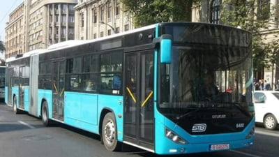 Momente tensionate intr-un autobuz al liniei 117 din Capitala. Un barbat a scos un cutit. A intervenit politia si SRI