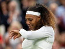 Momentul in care Serena Williams s-a accidentat si a iesit plangand de pe teren VIDEO