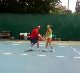 Momentul in care Simona Halep a decis sa-si concedieze antrenorul? Ce s-a intamplat la Bucuresti (Video)