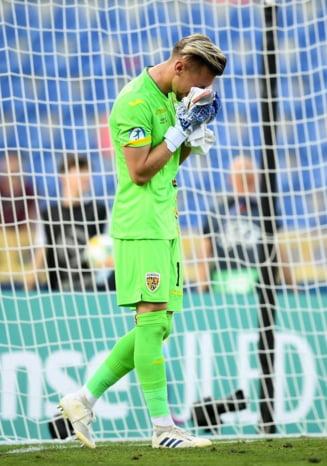 Momentul in care fanii l-au facut pe capitanul nationalei de tineret Ionut Radu sa planga la venirea in tara, dupa EURO (Video)