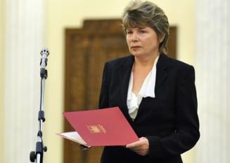Mona Pivniceru: Am asteptari de maxima normalitate in relatia cu Traian Basescu
