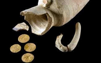 Monede de aur de acum 1.000 de ani, descoperite in Ierusalim