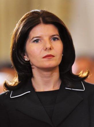 Monica Iacob-Ridzi, cu o zi inainte de sentinta: Altarul de sacrificiu are nevoie de al 13-lea ministru