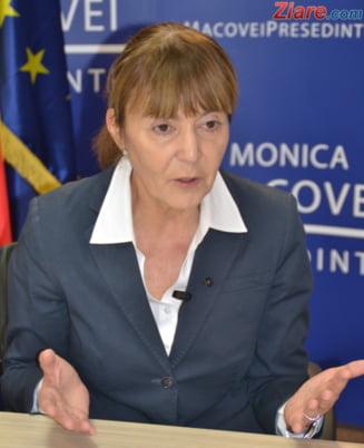 Monica Macovei, atacuri dure la Udrea si Melescanu. Merg pana la dizolvarea Parlamentului! Va crea o forta politica noua? Interviu video