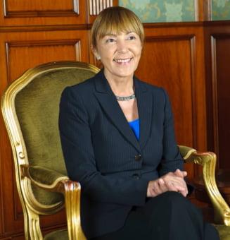 Monica Macovei candideaza la Presedintia Romaniei