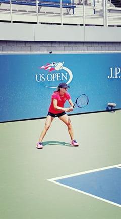 Monica Niculescu, calificare in optimi de finala la US Open, in proba de dublu