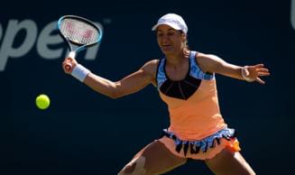 Monica Niculescu, eliminata de la Australian Open dupa un meci cu probleme