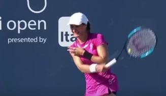 Monica Niculescu, huiduita de spectatorii de la Miami: ce a facut sportiva noastra la minge de meci
