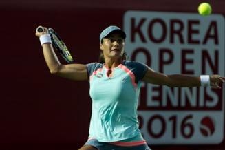 Monica Niculescu, invinsa in finala WTA de la Seul, dupa doua seturi pierdute la zero