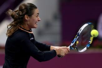 Monica Niculescu, invinsa in turul doi la Wimbledon dupa o partida intrerupta din cauza ploii