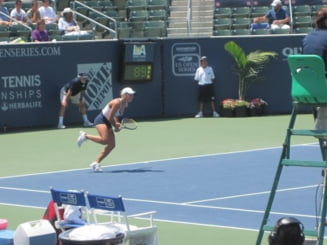 Monica Niculescu a pierdut finala de dublu la Cincinnati