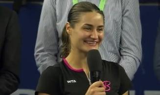 """Monica Niculescu a tinut """"unul dintre cele mai bune discursuri din istoria tenisului"""" (Video)"""