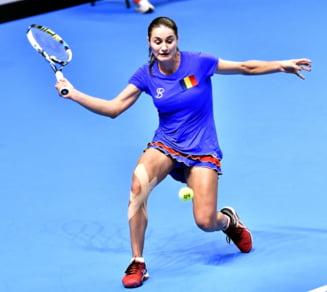 Monica Niculescu o invinge pe Sharapova la Doha!