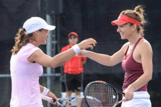 Monica Niculescu o invinge pe Simona Halep in turneul de dublu de la Miami dupa un meci nebun