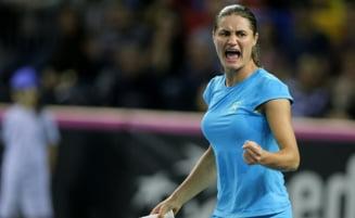 Monica Niculescu obtine o victorie fantastica pentru Romania in Fed Cup
