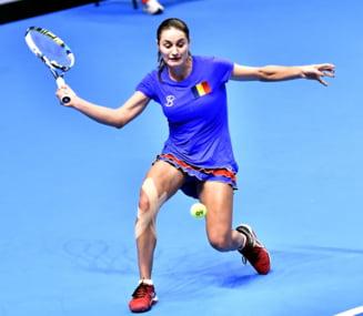 Monica Niculescu se califica in turul II la Miami cu o victorie clara