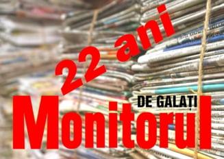 Monitorul de Galati - 22 ani de pasiune