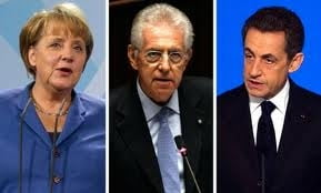 Monti-Sarkozy, noul tandem redutabil care contrazice Germania