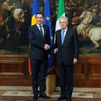 Monti vrea un calendar pentru intrarea Romaniei in Schengen si ii cere sa respecte MCV