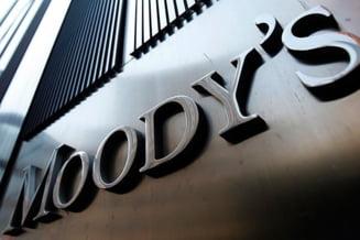 Moody's a inrautatit perspectiva Romaniei de la stabila la negativa