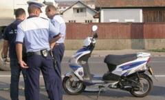 Mopedisti periculosi in trafic: bauti si fara permis!