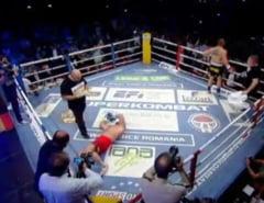 Morosanu l-a facut KO pe uriasul Czerwinski! Doi romani, campioni mondiali WTKA