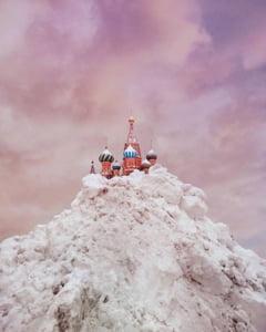 Moscova, afectata de cea mai puternica furtuna de zapada din ultimii 70 de ani (Foto&Video)