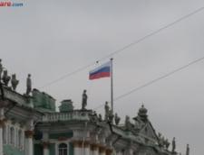 Moscova, sub ape: Sute de persoane au fost salvate din masini prinse de suvoaie
