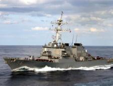Moscova spune ca una dintre navele sale a izgonit distrugatorul american USS John McCain din apele rusesti