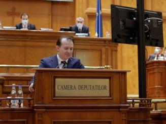 """Motiunea PSD, """"Romania esuata"""", a fost respinsa de Parlament"""