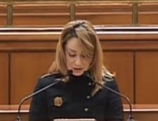 "Motiunea de cenzura, citita ""frumos"" de Cristina Pocora (Video)"
