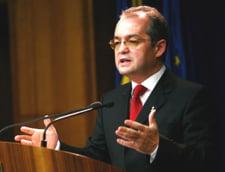 Motiunea de cenzura a picat - Boc: A castigat ratiunea in fata populismului si demagogiei