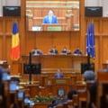 """Motiunea de cenzura a picat cu 201 voturi """"pentru"""". Dezbaterea a fost marcata, din nou, de circ si scandal"""