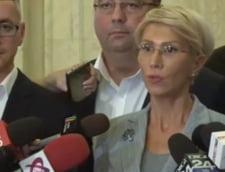 """Motiunea de cenzura impotriva Cabinetului Dancila a fost depusa: Turcan acuza puterea ca vrea sa impuna citirea motiunii """"noaptea, ca hotii"""""""