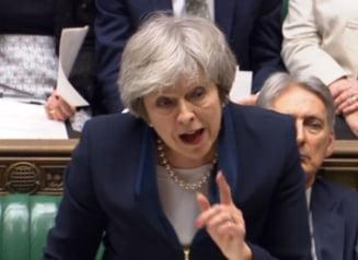 Motiunea de cenzura impotriva Guvernului Theresa May a fost respinsa