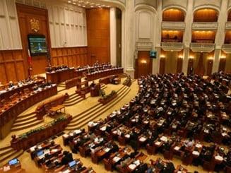 Motiunea de cenzura intiata de PNL va fi citita joi in plenul Parlamentului (Video)