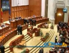 Motiunea de cenzura pe Codul Muncii, citita in Parlament